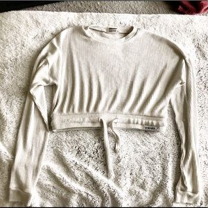Gymshark Relaxed Light Grey Sweater size S